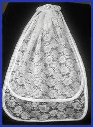 Beaded Summer Wedding Veil by Healersmoon