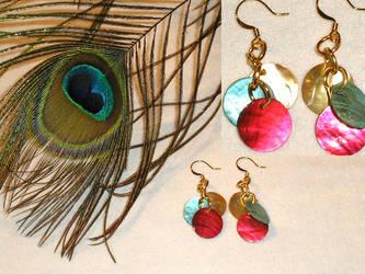 Elegant Holiday Earrings by Healersmoon
