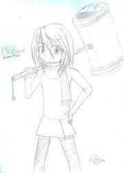 Hammer Mode Midori by Pasu2k
