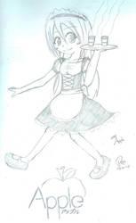 Maid Apple by Pasu2k