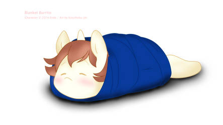 Blanket Burrito by Koushoku-jin