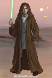 Jedi Bob by coxpreston