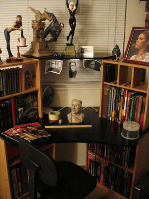 my desk by chrono1984