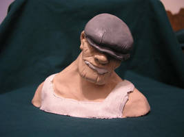The Goon sculpt by chrono1984