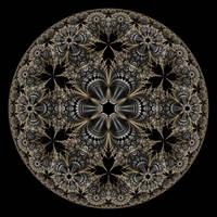 Metallic Lace I by rosshilbert