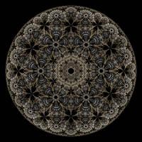 Metallic Lace III by rosshilbert