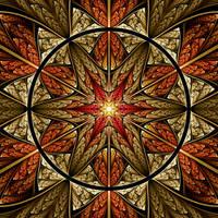 Autumn Star II by rosshilbert