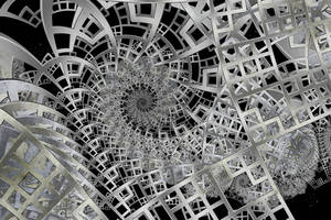 The Framework of Space I by rosshilbert
