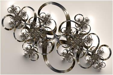 Metallic Filigree by rosshilbert