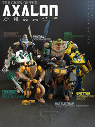 TFA Beast Wars Axalon Crew by Gizmo-Tracer