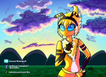 Chica Abeja by Mente-Libre