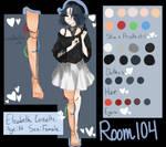 Elizabeth Cossette Reference [Room 104] by Fistdantilus