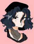 90s Anime Ellie Coloured by Fistdantilus