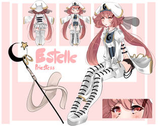 Estelle Ophellia Reference Sheet by Fistdantilus