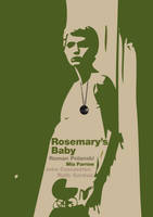 Rosemary's Baby Poster by cipgraph