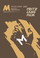 MOVIE POSTER M 1931 by cipgraph