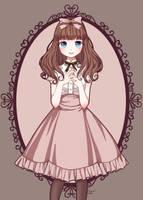 Classic Lolita Choco (Thank you for 200 watchers) by Kisuuu3