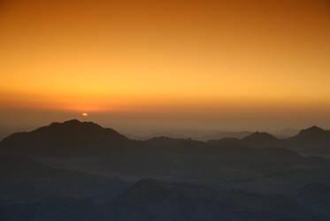 Sinai Sunrise by SkinnedRat