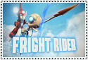 Fright Rider Stamp by sapphire3690