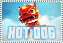 Hot Dog Stamp by sapphire3690