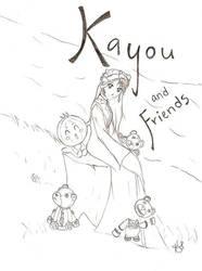 Kayou and Friends by ShadowedArcher