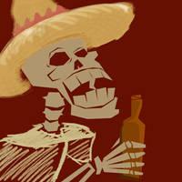Dia de los Muertos by Moncubus