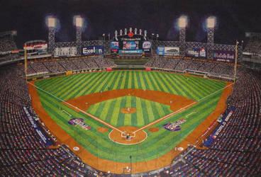 Pointillism 2005 Chicago White Sox World Series by NegativeSanction