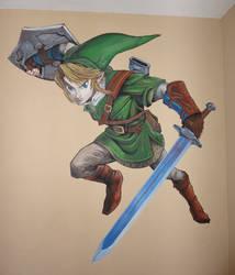 Link mural by NegativeSanction