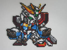 Pixel art-God Gundam by YgdrasilChaosControl
