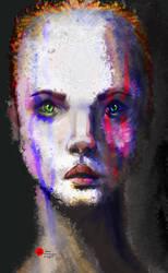 Woman by kangghee