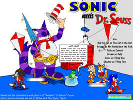 Sonic Meets Dr Seuss by DCLeadboot