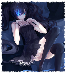 BLACK ROCK SHOOTER by xPhantomhive