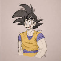 Son Goku by T-Biscuits
