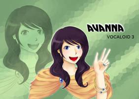 Avanna Vocaloid 3 by Akuo-art