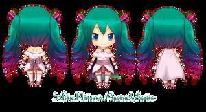 Miku Hatsune Aurora Version by Akuo-art
