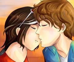 Spanish Kiss by Akuo-art