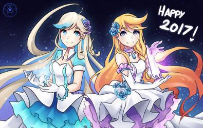 HAPPY NEW YEAR! by Akuo-art