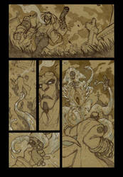 Hellboy : Tombs and Tentacles by DenisM79