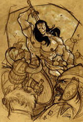 Conan the Barbarian - 2009 by DenisM79