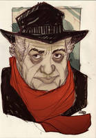 Federico Fellini by DenisM79