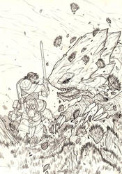 D and D 6 - Cover - pencil by DenisM79