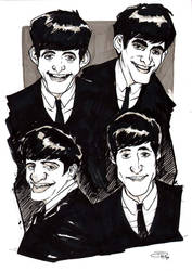 The Beatles by DenisM79
