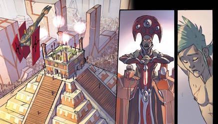 Atlantis - The Last Survivor - page detail by DenisM79