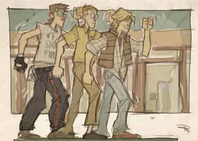 STAR WARS 80s High School - Breakfast Wars by DenisM79