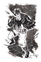 Rockabilly Batman - Commission by DenisM79