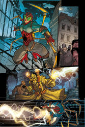 Steampunk Lady Spider - page 4 Preview by DenisM79