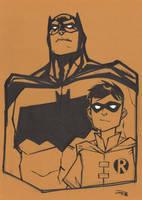 Batman and Robin MEFCC by DenisM79