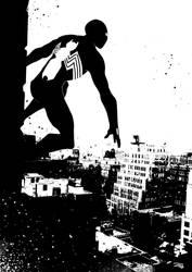 Spiderman Black Costume by DenisM79