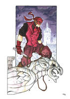 Steampunk Dare Devil commission by DenisM79