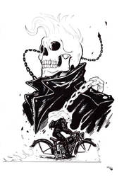 Rockabilly Ghost Rider by DenisM79